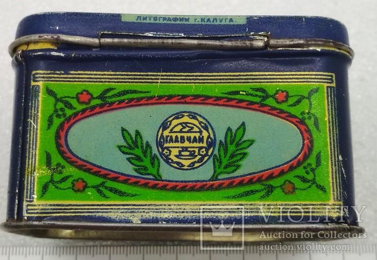 Коробочка Грузинский Чай Главчай Литография г. Калуга, фото №5