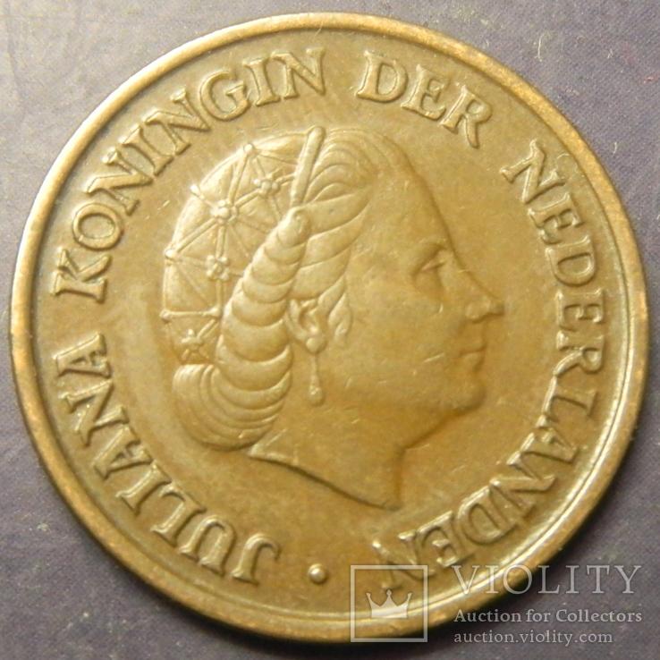 5 центів Нідерланди 1953, фото №3