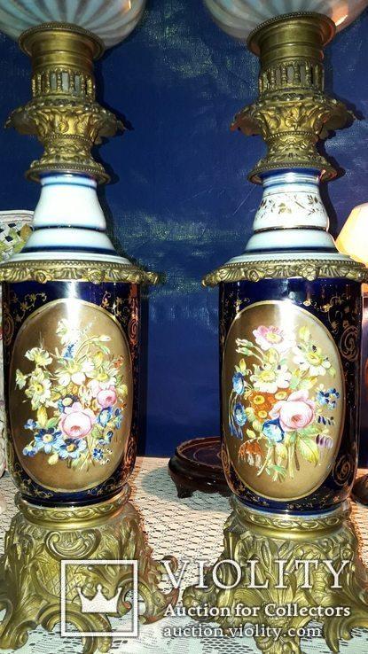 Французские керосиновые лампы, фото №7