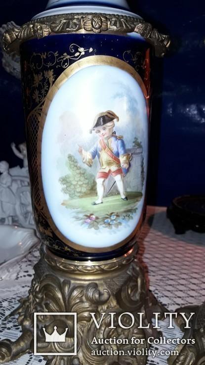 Французские керосиновые лампы, фото №9