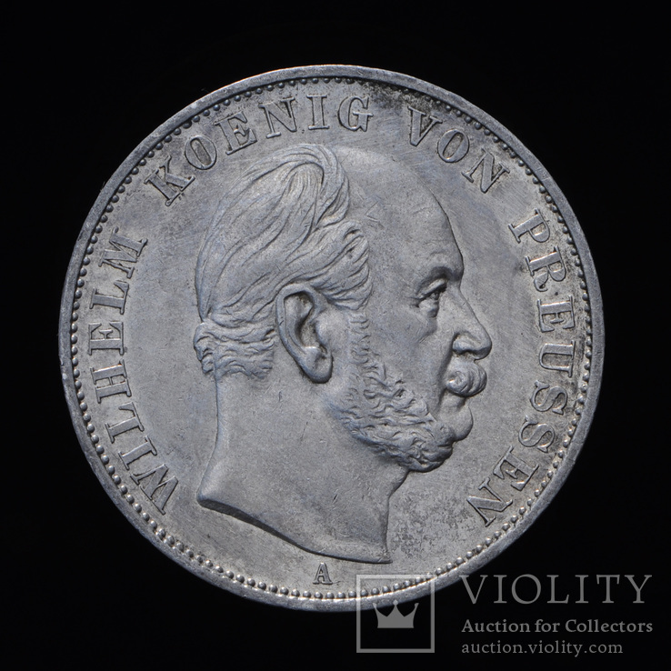 Победный Талер 1871, Пруссия, фото №3