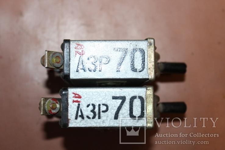 АЗР-70 (автомат защиты сети) 2 шт., Лот №190412, фото №5