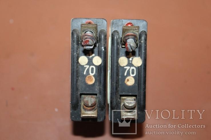 АЗР-70 (автомат защиты сети) 2 шт., Лот №190412, фото №6