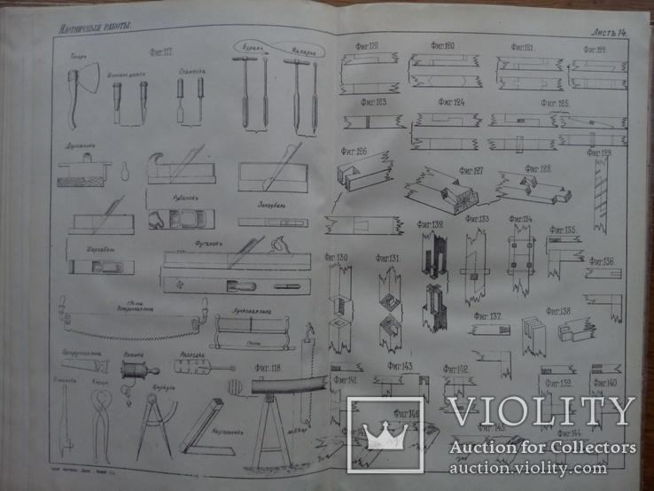 Строительное искусство и Архитектура 1895 г. С 455 рисунками, фото №12