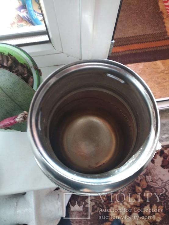 Термос ссср из нержавейки, фото №5