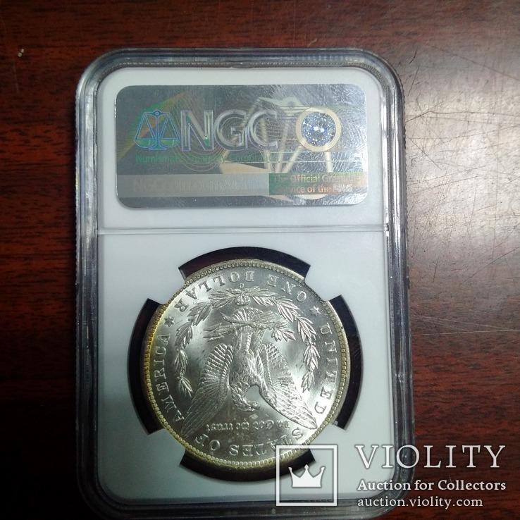1 доллар 1885 O NGC MS64, фото №8