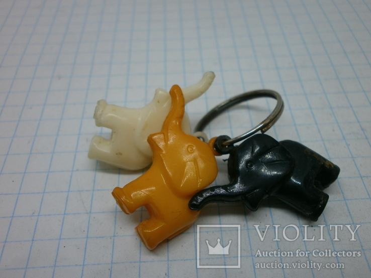 Брелок 3 слоника, фото №2