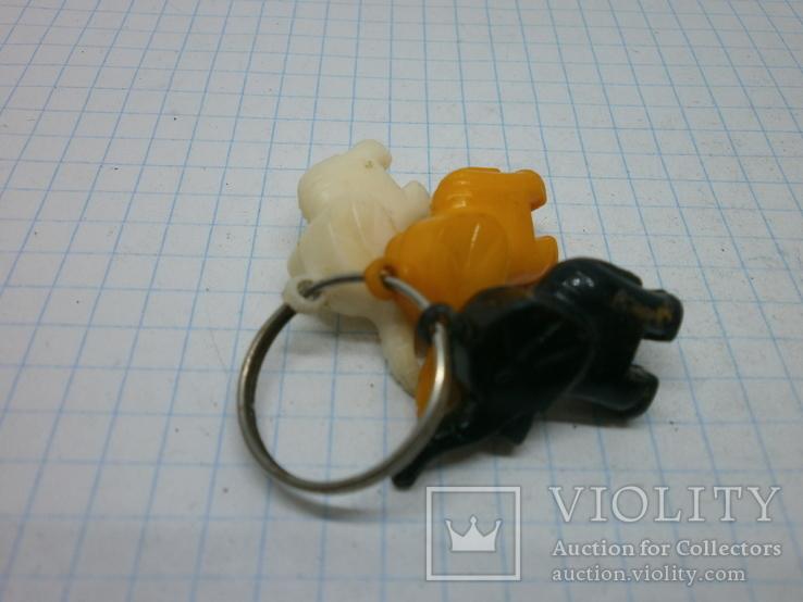 Брелок 3 слоника, фото №5