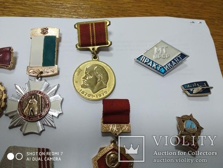 Медали и значки СССР, фото №3
