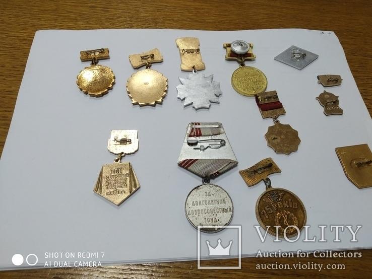 Медали и значки СССР, фото №7