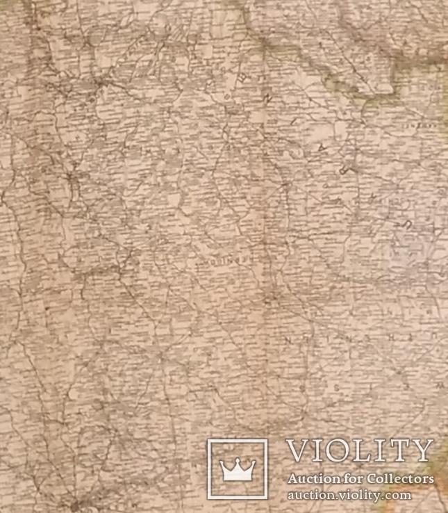 Большая карта 1943 года с Украиной на титуле., фото №3