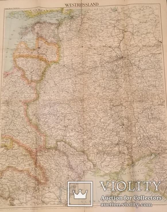 Большая карта 1943 года с Украиной на титуле., фото №6