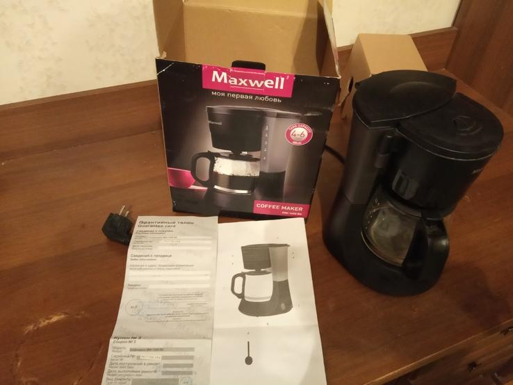 Крапельна кавоварка MAXWELL MW-1650 BK, фото №3