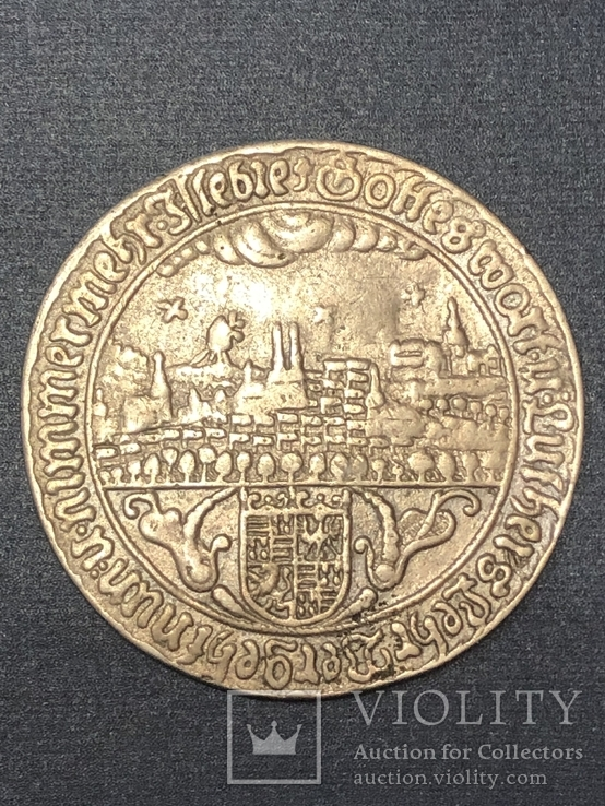 Mansfeld-Eisleben, 3/4 schauthaler 1661 - Martin Luther, фото №4