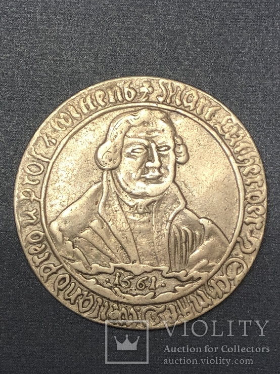 Mansfeld-Eisleben, 3/4 schauthaler 1661 - Martin Luther