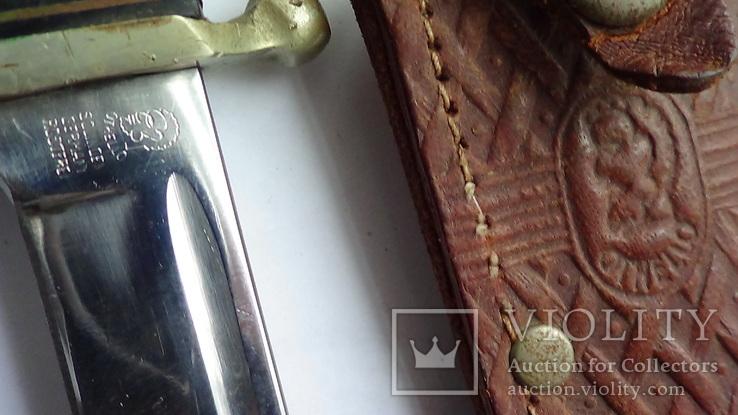 Охотничий нож-финка.Anton Wingen Jr. (Othello)  /Solingen/Германия., фото №5