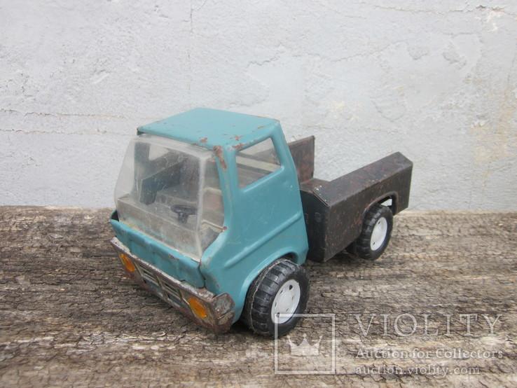 Металлический грузовик из ссср, фото №5