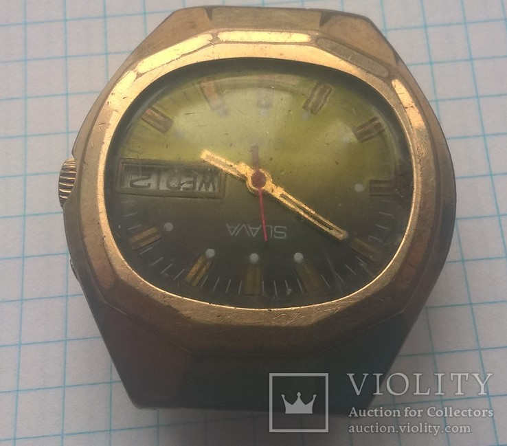 Часы slava брызгозащищенные, фото №4
