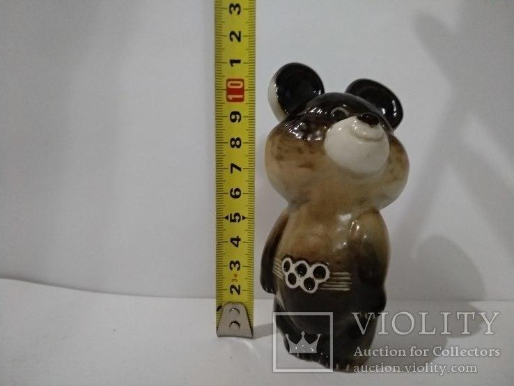 Олимпийский мишка  ЛФЗ, знак качества ,с 1 гр., фото №3
