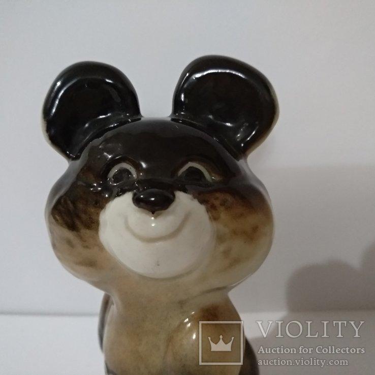 Олимпийский мишка  ЛФЗ, знак качества ,с 1 гр., фото №5
