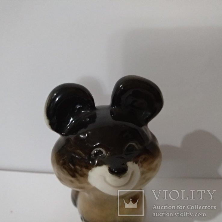 Олимпийский мишка  ЛФЗ, знак качества ,с 1 гр., фото №9