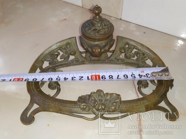 Сова бронза Коллекционная подставка на письменный и кухонный стол, фото №10