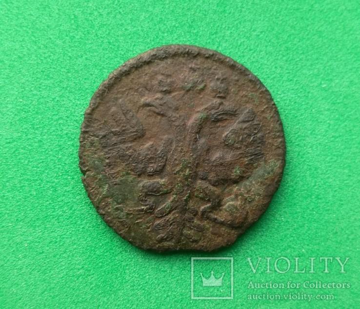 Полушка 1730 год, фото №6