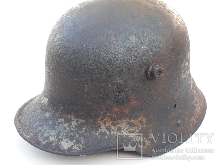 Германская каска М16 (рогач, штальхельм, Stahlhelm), Первая мировая война, фото №4