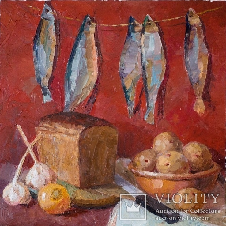 Натюрморт з рибою