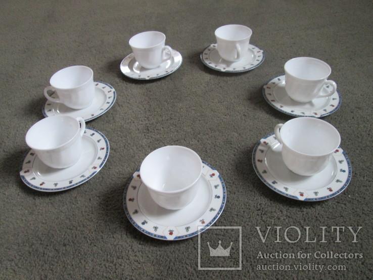 Семь чайных пар Франция.