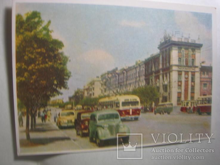 старые открытки донецка