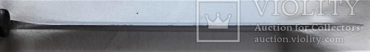 Нож - Мачете, ВВС СССР, №389 2014, из НАЗ - 7М, 1980е гг, в родной заточке, чехле, фото №7
