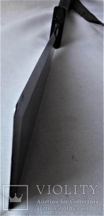 Нож - Мачете, ВВС СССР, №389 2014, из НАЗ - 7М, 1980е гг, в родной заточке, чехле, фото №8