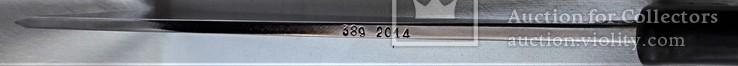 Нож - Мачете, ВВС СССР, №389 2014, из НАЗ - 7М, 1980е гг, в родной заточке, чехле, фото №10
