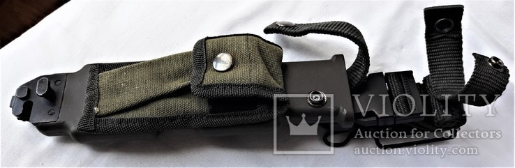 Штык-нож М9 №МК0433115, в родном чехле, Вооруженные Силы США, фото №5
