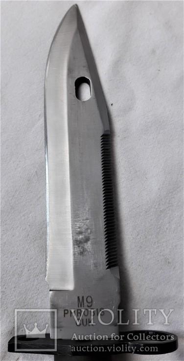 Штык-нож М9 №МК0433115, в родном чехле, Вооруженные Силы США, фото №7