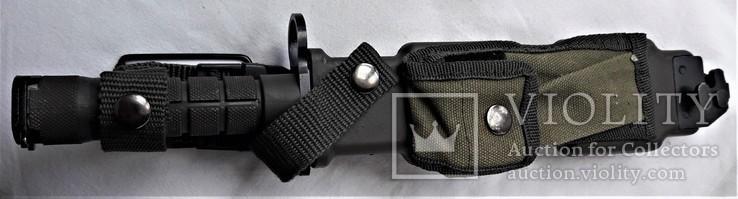 Штык-нож М9 №МК0433115, в родном чехле, Вооруженные Силы США, фото №13
