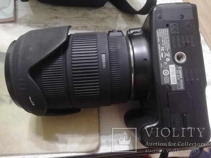 Canon 450D с объективом Sigma 18-200 DC OS, фото №7