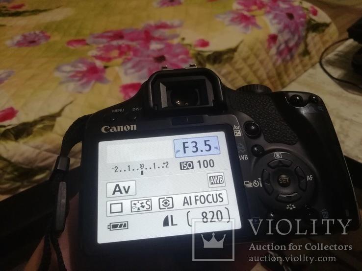 Canon 450D с объективом Sigma 18-200 DC OS, фото №9