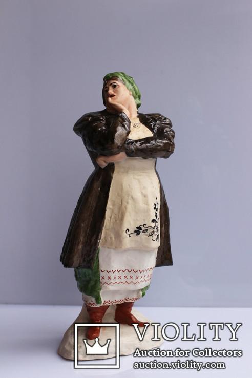 """Одарка"" Кавалеридзе, Артель Керамик 1954г."