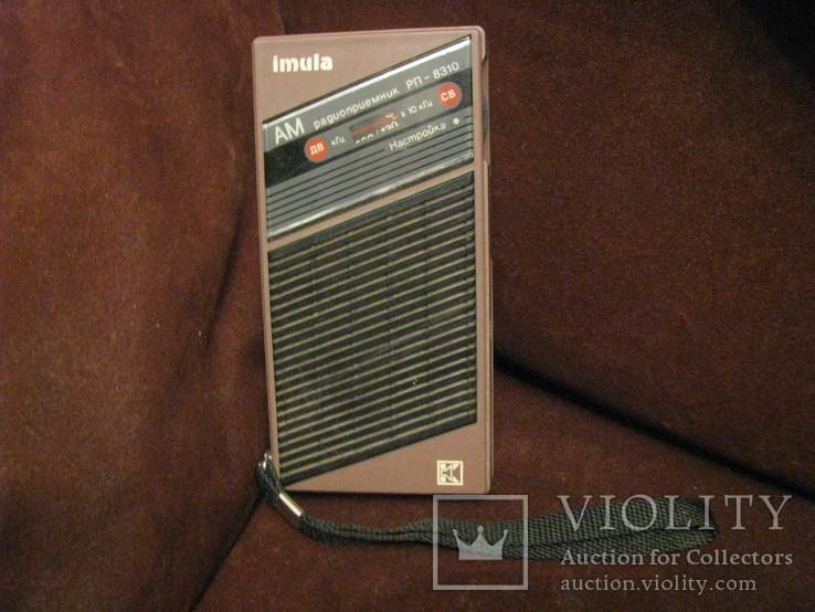 Транзисторный радиоприёмник - Имула - СССР.