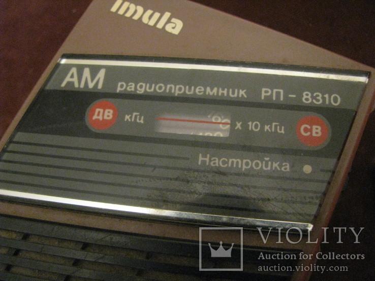 Транзисторный радиоприёмник - Имула - СССР., фото №6
