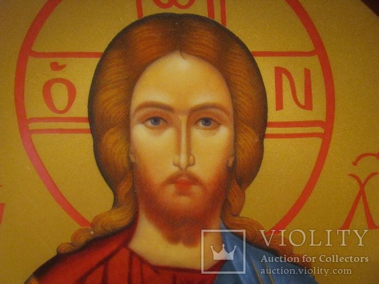 Настенная тарелка - Господь Вседержитель., фото №3