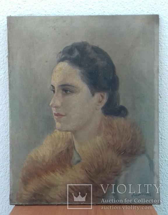 Картина с Автографом и годом., фото №2