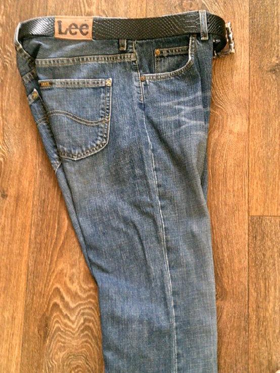LEE - фирменные джинсы, фото №3