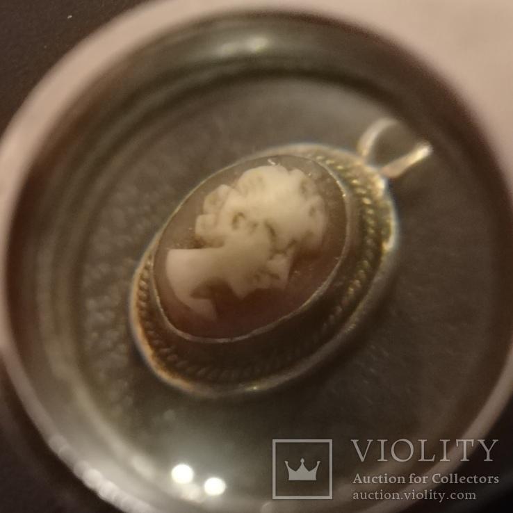 Старинная миниатюрная камея, фото №4