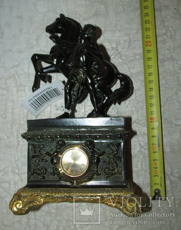 Часы интерьерные Спартанец с конем, фото №5