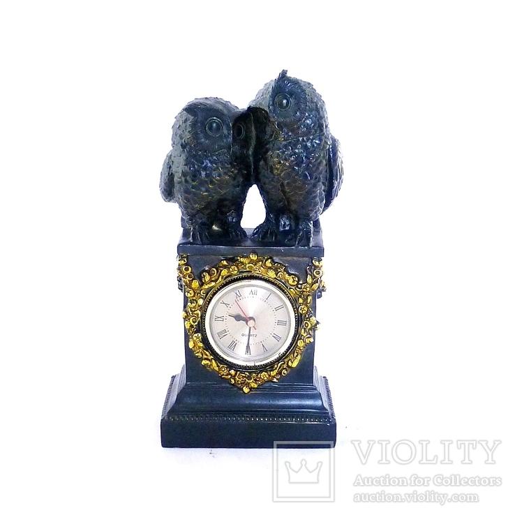 Часы интерьерные Совы, фото №3
