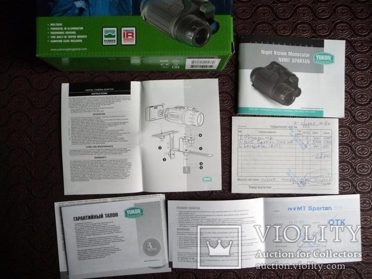 Прибор ночного видения Yukon 3*42 WP+крепление для экшн-камер\фото\видео, фото №4