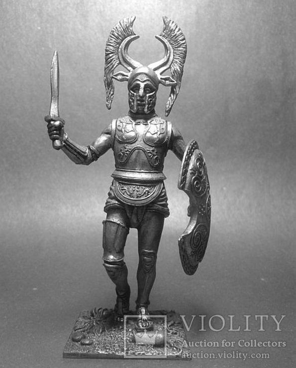 Греция. Спартанский гоплит. 6 век до н.э., фото №2